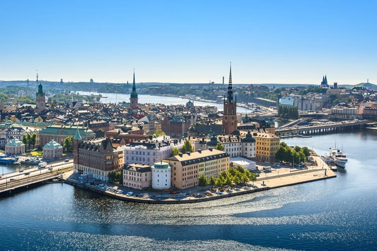 A picture of Stockholm, Sweden.